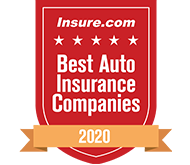 Insure.com's Top Five Best Auto Insurance Company 2020