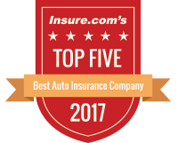 Insure.com's Top Five Best Auto Insurance Company 2017
